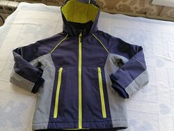 шикарная куртка Marks&Spencer на тинсулейте на 7-8 лет