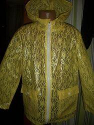 шикарный кружевной дождевик на 10/11 лет Young Dimension Янг Дайменшн