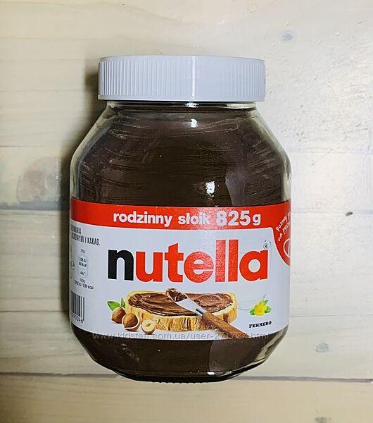 Шоколадная паста Nutella 825гр.