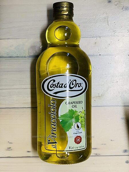 Масло из виноградных косточек Costa dOro 1 л. , Италия