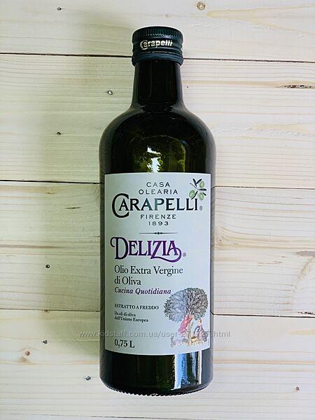 Оливковое масло Carapelli Delizia 0,75мл. , Италия