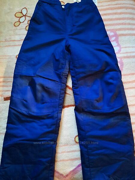 Лыжные штаны, размер XL на мальчика 10-13 лет