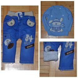 Комплект одежды утепленные штаны на флисе