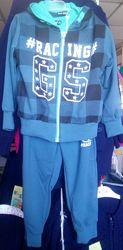 Новый спортивный костюм-тройка Польша на мальчика 3-4 года.