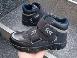 Ботинки Weestep в черном и темно-синем цвете 32-37р