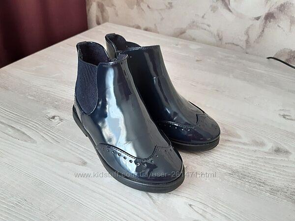 Лаковые ботиночки Zara 26 р. 16, 7 см идеальное состояние