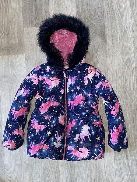 красивая, тёплая курточка TU Размер 2-3 года
