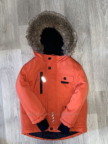очень классная , яркая курточка Nutmeg Размер 2-3 года