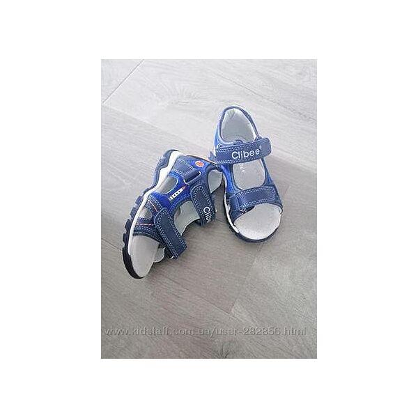 Босоножки, сандалии для мальчика  Clibee