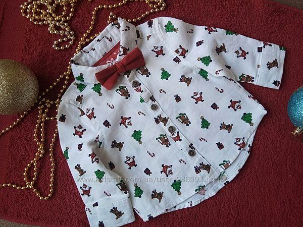 Рубашка для новорічної фотосесії Primark