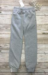 Теплые спортивные штаны детские, штаны с начесом. рост 128-164